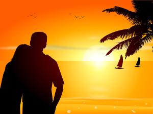bigstockphoto_Couple_On_The_Beach_3222360
